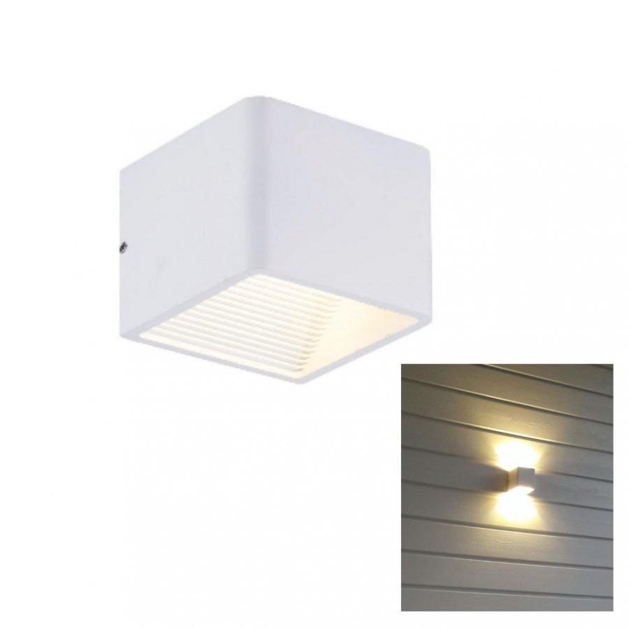 LED sisustusvalaisin 5W 3500K IP44 valkoinen