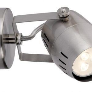 LED-spottivalaisin Gamma Ø 80x160 mm harjattu teräs