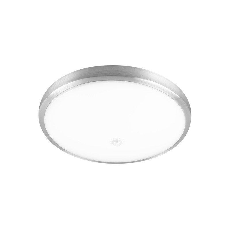 LED-tunnistinvalaisin Posivo LED Sensor 16W 3000K 800lm Ø 345x107 mm valkoinen