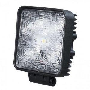 LED työvalo 15W neliö 10-30V 800lm