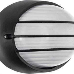 LED-ulkovalaisin Siones 145x215 mm musta/valkoinen