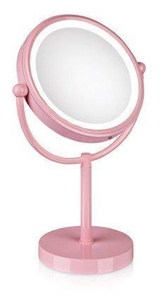 LED-valaisinpeili Make-Up 200x130x330 mm vaaleanpunainen