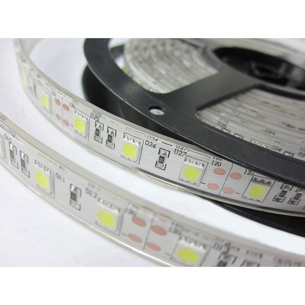 LED-valonauha 12V 14 4W/m 60 LED/m IP68 pun/vihreä/sin 5m