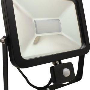 LED-valonheitin CSPOT 20W BLACK liiketunnistimella