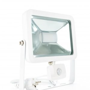 LED valonheitin CSPOT 50W WHITE liiketunnistimella