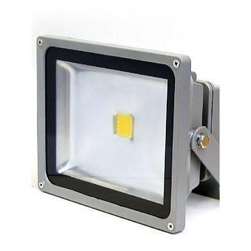 LED-valonheitin LED Flood 30 IP65 30W 4000K 3000lm 225x140x185 mm harmaa