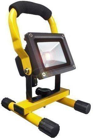 LED-valonheitin telineellä Bright Solar IP65 10W 6000K 750lm