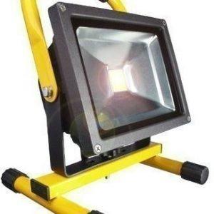 LED-valonheitin telineellä Bright Solar IP65 20W 6000K 1500lm