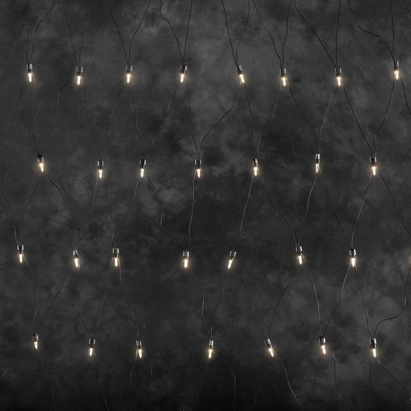 LED-valoverkko 4058-100 160 valoa 200x150 cm lämmin valkoinen