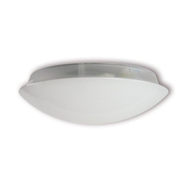 LED-yleisvalaisin Adam 12W 4000K 1150lm IP54 Ø 375x122 mm valkoinen