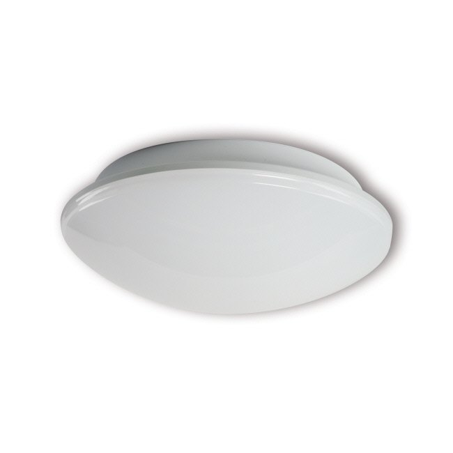 LED-yleisvalaisin Eve 6W 4000K 540lm IP54 Ø 255x94 mm valkoinen