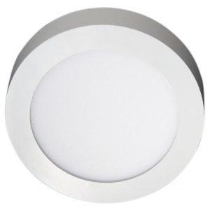 LED-yleisvalaisin Ronda 10W 3000K 700 lm Ø 180x35 mm valkoinen
