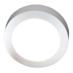 LED-yleisvalaisin Ronda 21W 3000K 1500 lm Ø 320x35 mm valkoinen