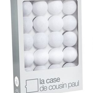 La Case De Cousin Paul Bright White Sisustusvalosarja