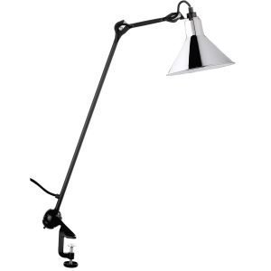 La Lampe Gras N°201 Architect Pöytävalaisin Musta / Kromi