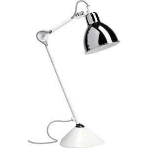 La Lampe Gras N°205 Pöytävalaisin Valkoinen / Kromi