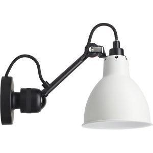 La Lampe Gras N°304 Seinävalaisin Kytkimellä Musta / Valkoinen