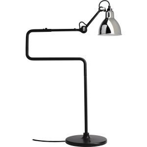 La Lampe Gras N°317 Pöytävalaisin Musta / Kromi