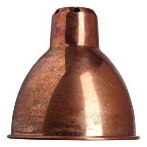 La Lampe Gras Round Shade Lampunvarjostin Raaka Kupari