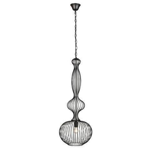 Lamp Gustaf Kattovalaisin Cage Ø 360x960 mm musta