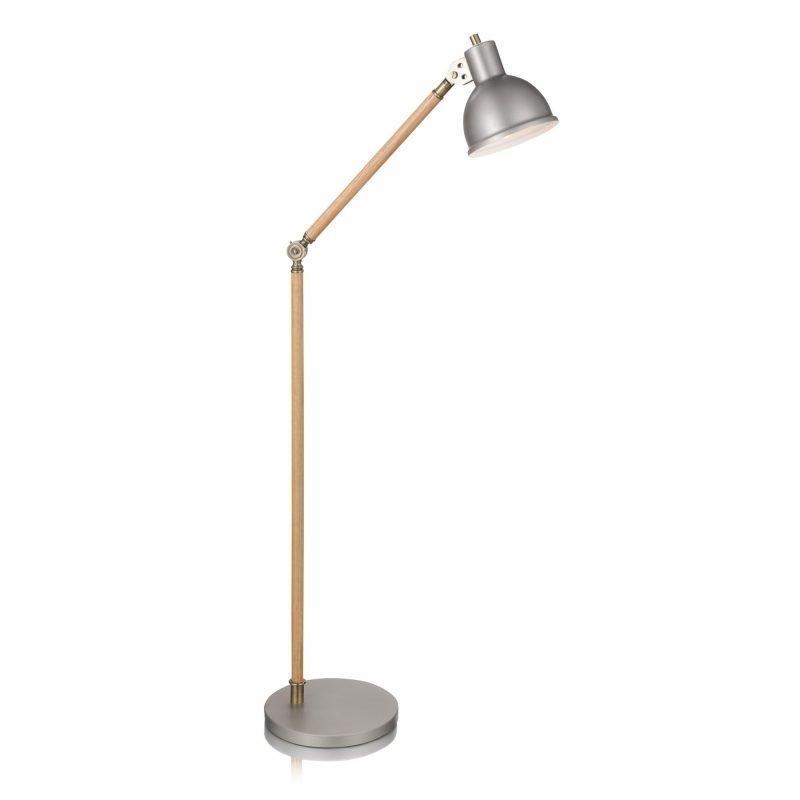 Lamp Gustaf Lattiavalaisin Archimedes 260x500x1270 mm tammi/alumiini