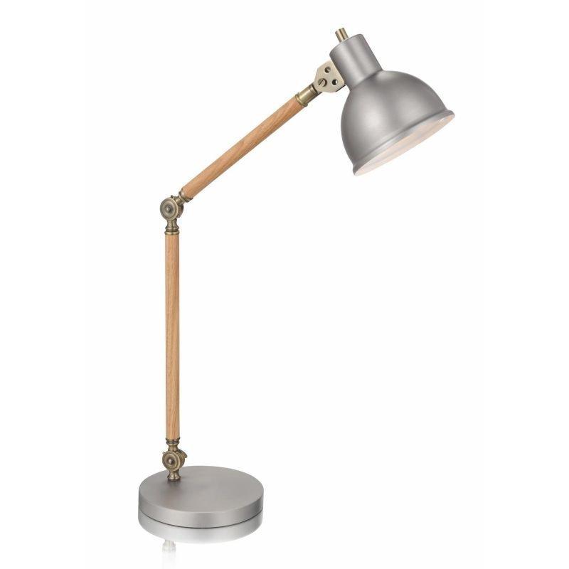 Lamp Gustaf Pöytävalaisin Archimedes 200x420x720 mm tammi/alumiini