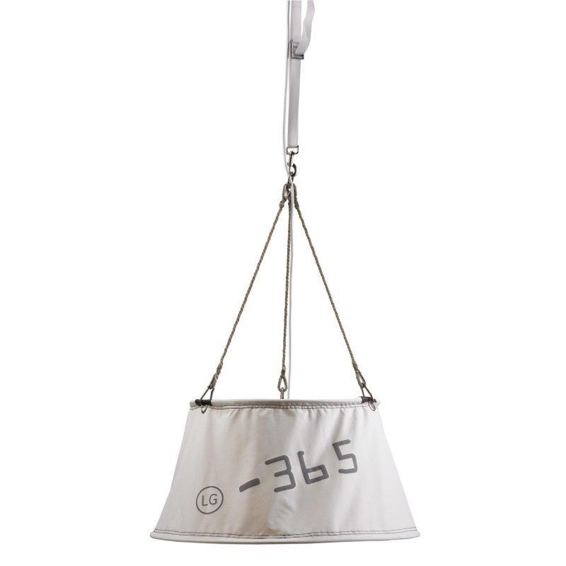 Lamp Gustaf Riippuvalaisin Cape Horn Ø 740x360 mm purjekangas