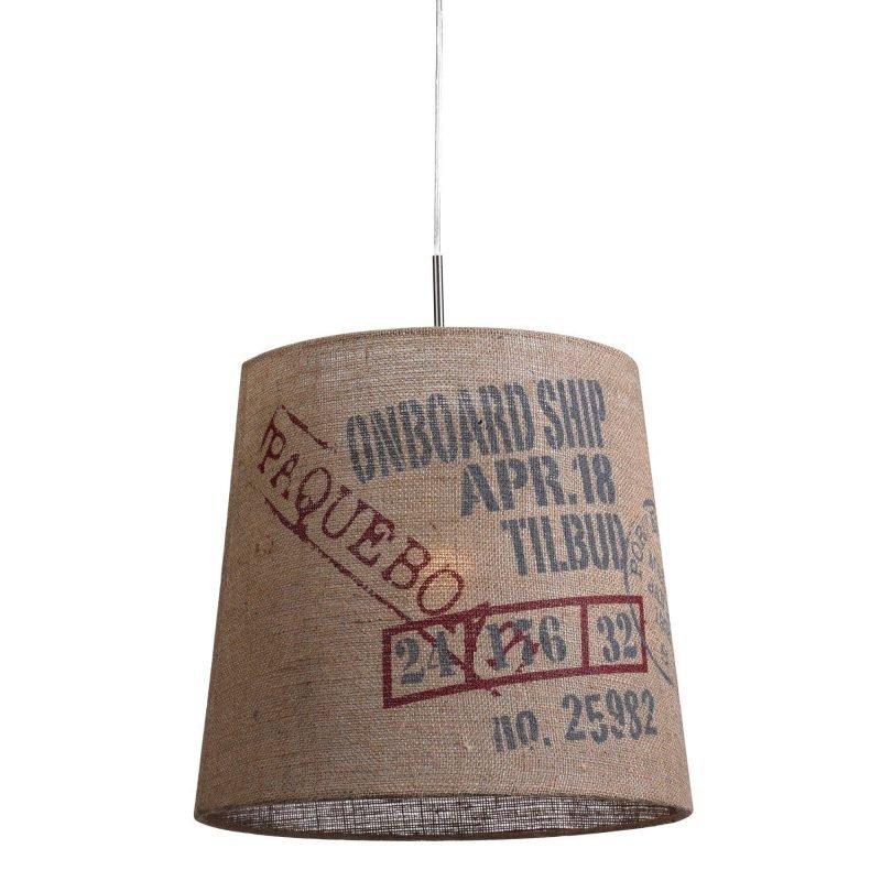 Lamp Gustaf Riippuvalaisin Cargo Ø 450x450 mm juutti