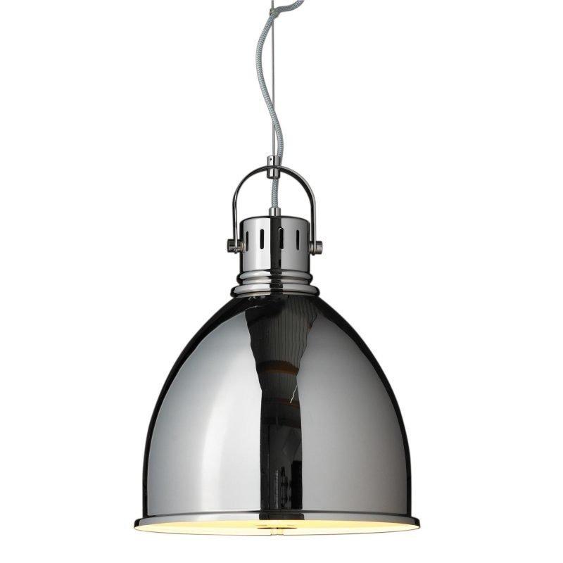 Lamp Gustaf Riippuvalaisin Hastings Ø 350x475 mm kromi