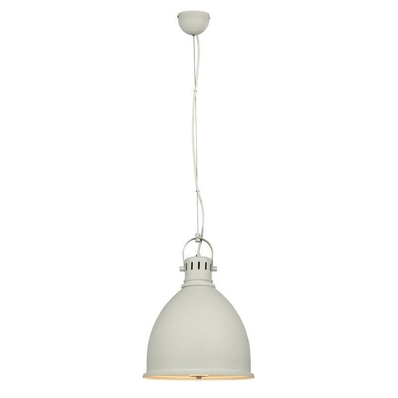 Lamp Gustaf Riippuvalaisin Hastings Ø 350x475 mm valkoinen