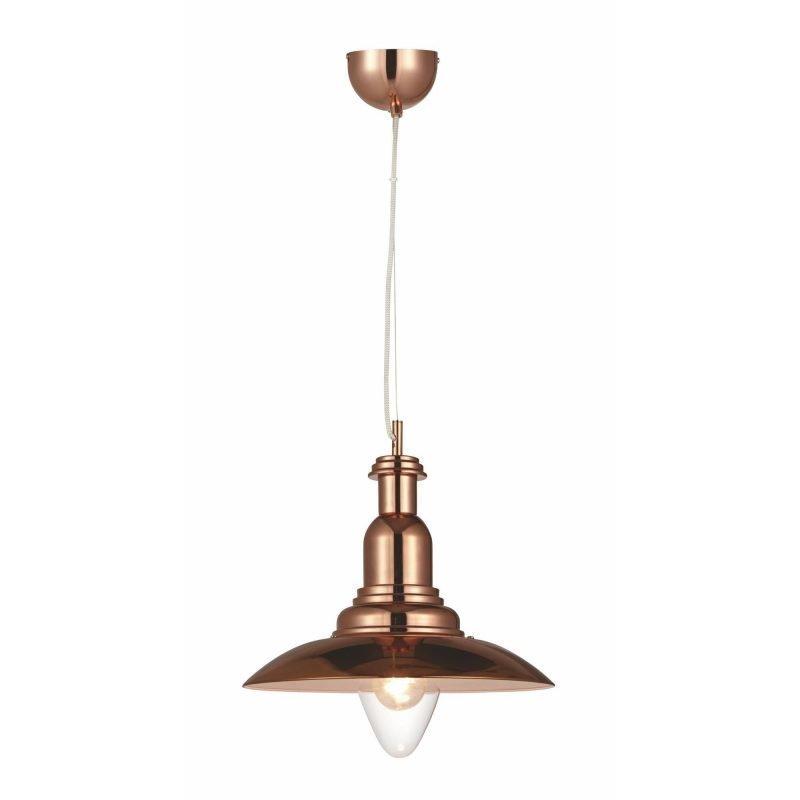 Lamp Gustaf Riippuvalaisin Portland Ø 330x340 mm kupari