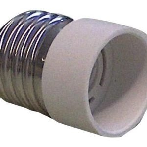 Lamp holder adapter E14 to E27