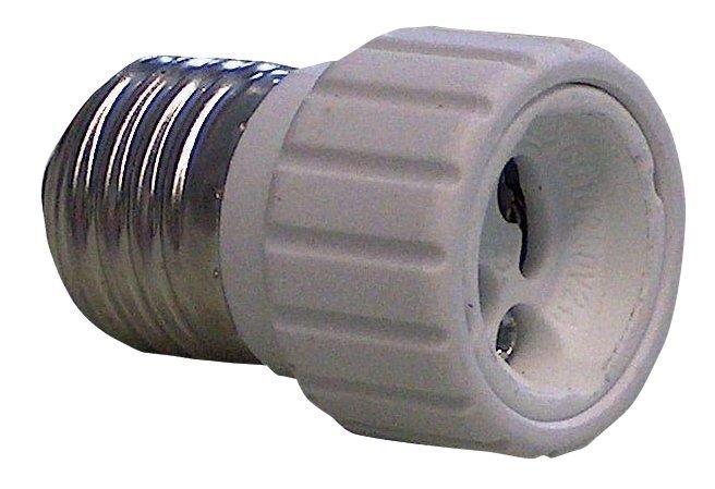 Lamp holder adapter GU10 to E27