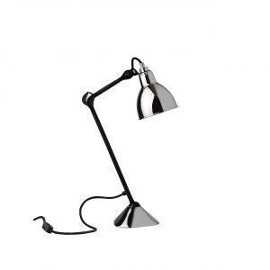 Lampe Gras 205 Pöytävalaisin Musta / Kromi
