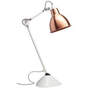 Lampe Gras 205 Pöytävalaisin Valkoinen / Kupari