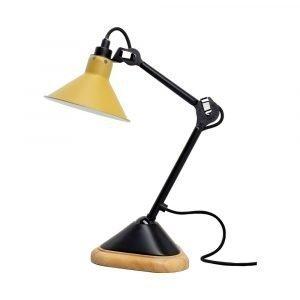 Lampe Gras 207 Pöytävalaisin Musta / Keltainen
