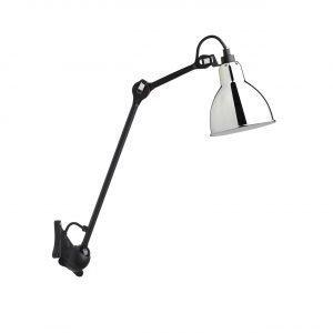 Lampe Gras 222 Seinävalaisin Kromi / Musta