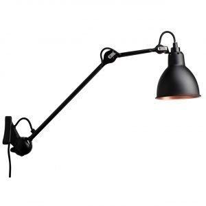 Lampe Gras 222 Seinävalaisin Musta / Musta / Kupari