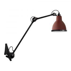 Lampe Gras 222 Xl Outdoor Seinävalaisin Musta / Punainen