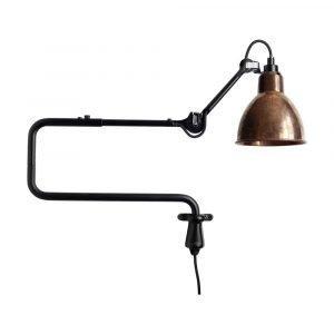 Lampe Gras 303 Seinävalaisin Musta / Raaka Kupari