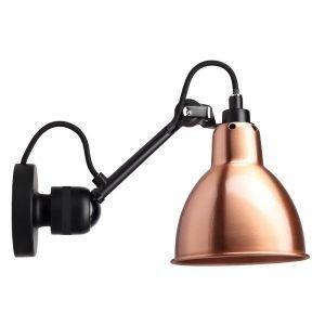 Lampe Gras 304 Seinävalaisin Musta / Kupari / Valkoinen