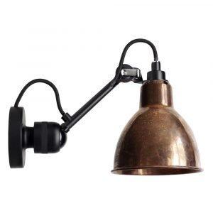 Lampe Gras 304 Seinävalaisin Musta / Raaka Kupari