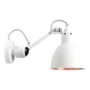 Lampe Gras 304 Seinävalaisin Valkoinen / Valkoinen / Kupari