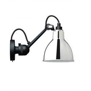 Lampe Gras 304sw Seinävalaisin Musta / Kromi