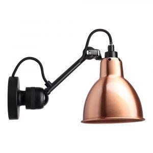 Lampe Gras 304sw Seinävalaisin Musta / Kupari / Valkoinen