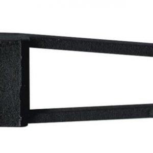 Lamppukannatin GX5.3 12V 50W 975.17 musta vaijerijärjestelmään