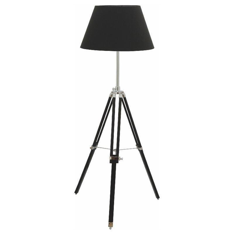 Lattiavalaisin Karolin Ø 500x1450 mm musta