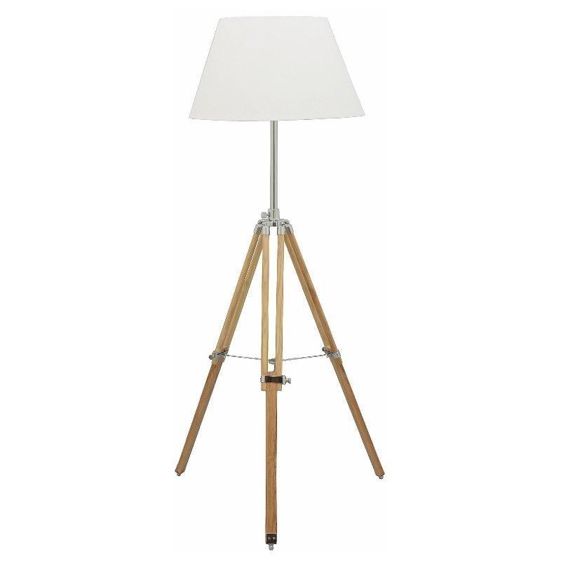 Lattiavalaisin Karolin Ø 500x1450 mm puu/valkoinen