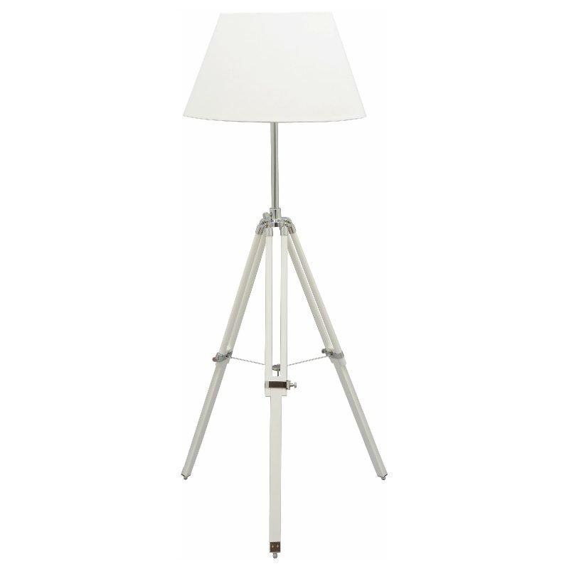 Lattiavalaisin Karolin Ø 500x1450 mm valkoinen