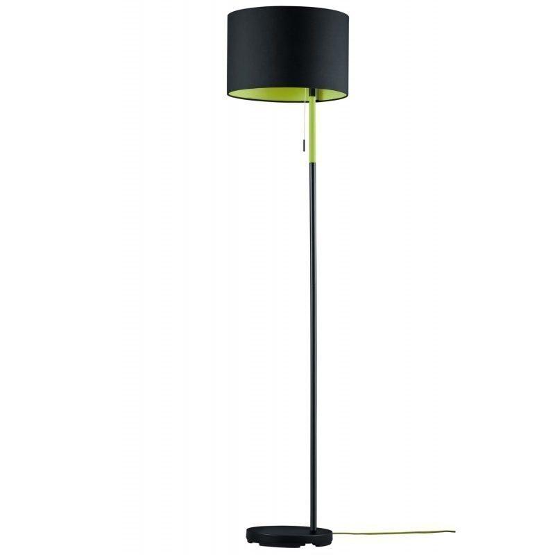 Lattiavalaisin Landor Ø 350x1500 mm musta/vihreä